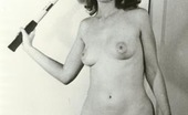 Vintage Classic Porn Vintage Nudist Going Fully Naked On The Natural Camping