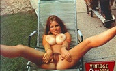 Vintage Classic Porn Roberta Pedon Showing Her Massive Natural Titties Outdoor