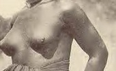 Vintage Classic Porn Several Nude African Ladies From The Twenties Showing It All
