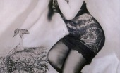 Vintage Classic Porn Sensual Vintage Ladies In Sexy Lingerie Showing The Goods