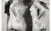Vintage Classic Porn 233535 Some Beautiful Vintage Ladies Butt Posing Nude Pictures
