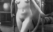 Vintage Classic Porn Some Vintage Girls Standing Naked In Front Of Their Mirrors