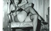 Vintage Classic Porn Vintage Naked Chicks Are Slapped Hard And Tied To A Bed