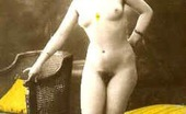 Vintage Classic Porn Vintage Color Tints Chicks Enjoy Posing In The Twenties