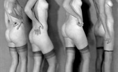 Vintage Classic Porn Beautiful Vintage Sweetheart Bottoms Posing In The Fifties