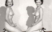 Vintage Classic Porn A Lot Of Handsome Vintage Sweeties Posing In The Fifties