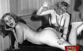 Vintage Classic Porn 233694 Vintage Girls Enjoy Spanking Other Girls In The Fifties