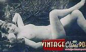 Vintage Classic Porn Pretty Hot Vintage Naked Reclining Ladies In The Twenties