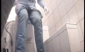 Piss Hunt Two Hot Blondies Peeing In Spycammed Loo