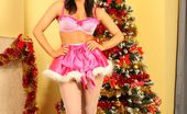 Only Silk And Satin Jocelyn-Kay Jocelyn-Kay In Christmas Leggings (Non Nude)