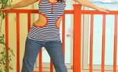 Only Carla Carla In A Revealing Tight Top And Jeans. (Non Nude)