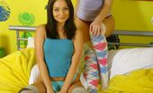 Only Carla Carla Joined By The Sexy Melissa In Cotton Panties And Knee Socks. (Non Nude)