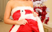 Only Carla Lovely Carla Seductively Removes Sexy Santa Claus Outfit.