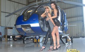 Molly's Life Amazing Big Tits Molly And Porn Star Sophie Santi Fuck Eachother On A Helicopter In These Hot Lesbo Fucking Pics And Big Movie