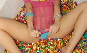Molly's Life Check Out These 2 Hot Big Tits Hot Ass Lesbians Fuck Eachother In A Tub Full Of Skittle Candy Amazing Hot Lesbian Pics