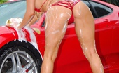 Molly's Life 2 Hot Wet Bikini Babes Cindy Jones And Molly Fuck Eachother On A Ferrari In These Amazing Pussy Licking Soapy Big Tits Fucking Pics
