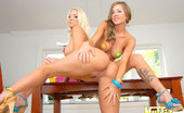 Molly's Life Big Hot Round Tits Lesbian Porn Stars Share Their Hot Pussies In This Super Hot After Class Lesbian Fuck Pics