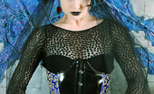 Gothic Sluts Artemis Aesthetic Fashionable Corsetted Gothic Beauty Undressed