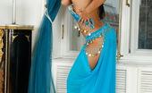Flexi Becky Dana13 Brunette Dances Showing Off Her Fit Flexible Body