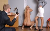 Totally Undressed Nude Posing And Fetish Pussy Exam At A Crazy Interview