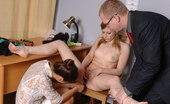 Totally Undressed Gyno Exam With A Speculum At A Kinky Work Try-Out