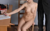 Totally Undressed Humiliating But Very Orgasmic Job Interview