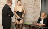 Totally Undressed Mad Staff Managers Having Fun At The Sex Interview