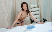 Nubiles Izi Naughty Girl Next Door Shows Off Her Tiny Tits And Shaved Pussy