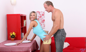 Nubiles Tracy Loves Stunning Blue Eyed Blonde Gets Her Tight Twat Pounded By Her Man