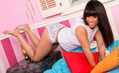 Nubiles Jessie Marie Jessie Marie Teasingly Shows Off Her Alluring White Bra And Panties