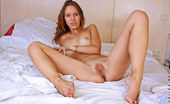 Nubiles Bianca Playful Nubile Gets Naked In Bed And Pleasures Her Cock Craving Juice Box