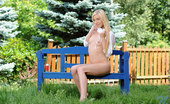 Nubiles Diana Fox Playful Teen Diana Fox Strips Naked In Her Backyard And Masturbates