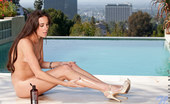 Nubiles Bailey Bam Bailey Bam Strips Off Her Bikini And Plays With A Vibrator Poolside