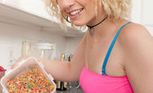 Nubiles Proxy Paige Blonde Nubile Proxy Paige Strips Down To Her Bra And Panties In The Kitchen