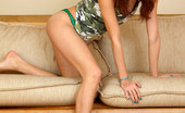 Nubiles Calina Alluring Teen Calina Strips And Spreads Her Juicy Nubile Pussy