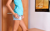 Nubiles Marinka Sweet Teen Hottie Lets Us Peek At Her Sexy Figure In Short Jeans And A Sexy Top