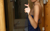 Nubiles Kaleena Blonde Chick Kaleena Tour Us Inside Her Sauna Room With Her Wearing Just Towel