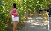 Nubiles Monika Benz Exhibitionist Nubile Monika Benz Enjoys A Forbidden Public Nudity In Her Village