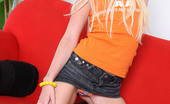 Nubiles Alexiasky Hot Teen Alexiasky Slides Off Her Tops And Exposes Her Tight Ass On The Couch