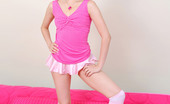 Nubiles Kaylee Nubile Kaylee Shows Off Her Flexibility By Doing A Split In A Tiny Skirt