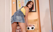 Nubiles Jesica Gorgeous Teen Caresses Her Pussy Under Her Panties