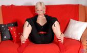 Nubiles Teeta Blonde Teen Teeta Reveals Black Bra And Her Tight Thongs On Her Smooth Ass