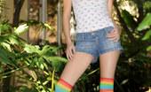 Nubiles Amai Fliratious Teen Shows Off Her Petite Body Outdoors