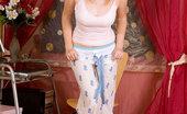 Nubiles Katiek 243553 Naughty Amateur Teen Katiek Tortures Her Swollen Tight Pussy With A Pink Dildo