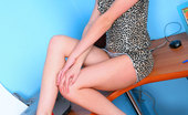 Nubiles Dinna Dazzling Nubile Dinna Proudly Shows Off Her Legs Indoors And Posing Really Hot
