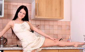 Nubiles Marcy Nubile Babe Marcy Teases Us With Her Lovely Beauty In The Kitchen