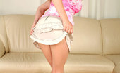 Nubiles Nikysweet Busty Teen Nikysweet Pinches Her Big Tits And Slides Off Her Miniskirt Really Nice