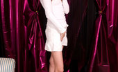 Nubiles Harmony Adorable Teen Stunner With Flawless Long Legs Teasing In Her White Cute Skirt