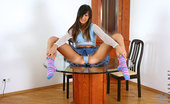 Nubiles Dangerdoll Charming Teen Teaser Modellin On Top Of Chair And Flashin Off Her Panty Through Her Lacey Miniskirt