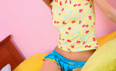 Nubiles Vita Amateur Teen Vita In Blue Socks Undress And Exposed Her Great Perfected Body